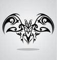 Tribal Bat vector image vector image