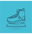 skate isolated design vector image