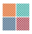 seamless patterns or textures set with vector image