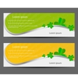 Saint Patricks day banner vector image vector image