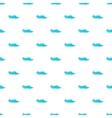 Ocean or sea wave pattern cartoon style vector image
