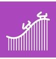 Roller Coaster vector image