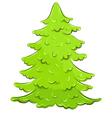 lush tree vector image