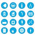 car service maintenance icon blue vector image