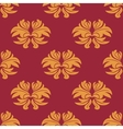 Simple bold arabesque seamless pattern vector image