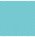 wave pattern background blue green vector image vector image