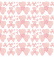 flower petal seamless pattern design vector image