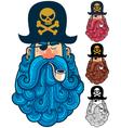 Pirate Portrait 2 vector image