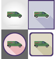 delivery flat icons 07 vector image