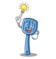 Have an idea spatula character cartoon style vector image