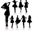 winter fashion sale vector image
