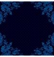 Seamless vintage background baroque pattern vector image
