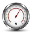 Voltmeter vector image