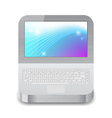 Icon for laptop vector image vector image