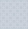 seamless geometric pattern vintage curved on gray vector image