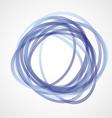 Blue Circles vector image vector image