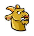 Goat Head vector image vector image