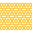 Seamless texture of honeycomb vector image