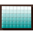 Cubes colored background vector image