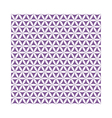 violet flower of life sacred geometric seamless vector image
