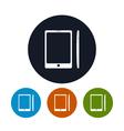Phone icon gadget icon vector image