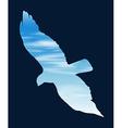 Save wildlife with wild bird vector image