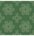 Seamless lace pattern Vintage texture Spiral vector image