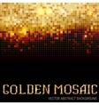 Shining abstract dark mosaic background vector image