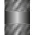 Matallic background vector image