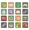 SEO and development simply icons vector image