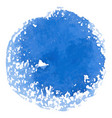 abstract watercolor blue spot banner vector image