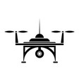 air drone icon vector image