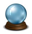Crystal ball vector image vector image