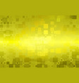 golden yellow khaki glowing various tiles vector image