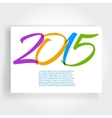 Set of Trendy cards vector image