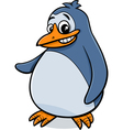 penguin bird cartoon vector image