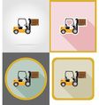delivery flat icons 09 vector image