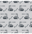 dish of pasta pattern vector image