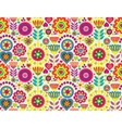 Decorative colorful funny seamless pattern vector image vector image