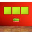 Empty Storefront Design vector image