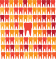 Geometric teeth grid leadership vector image vector image