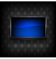 Plasma LCD TV vector image