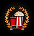 cinema and movie design vector image