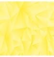 Abstract Yellow Polygonal Background vector image