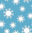 Rock and roll winter seamless pattern Background vector image