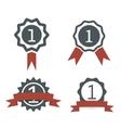 award medal icons vector image