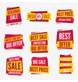 Special offer sale tag discount symbol vector image
