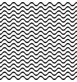 pattern with lines and waves vector image