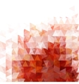 Abstract red light template background vector image
