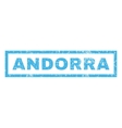 Andorra Rubber Stamp vector image